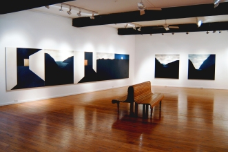 Sustained Silence exhibition, Sydney.