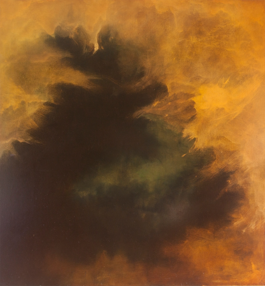 Bunya Sunrise Robertson 152cm x 137cm oil on linen 2016